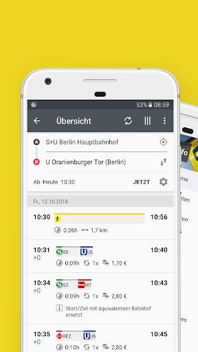 BVG Fahrinfo Berlin 6.7.2 (104) screenshots 1