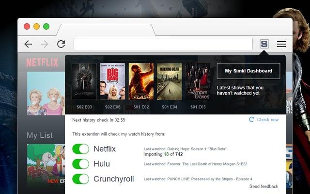 Enhancer for Netflix, Crunchyroll, etc