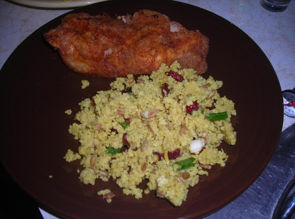 Curry Cous Cous Salad Recipe