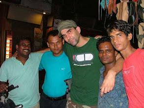 Photo: Old Delhi, Pahar Ganj - local friends