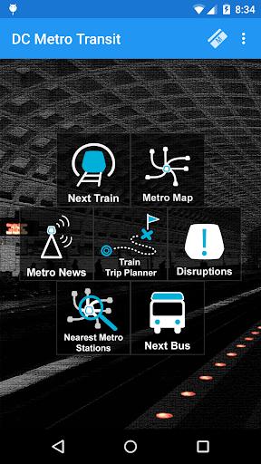 DC Metro Transit Info - Free screenshot 1