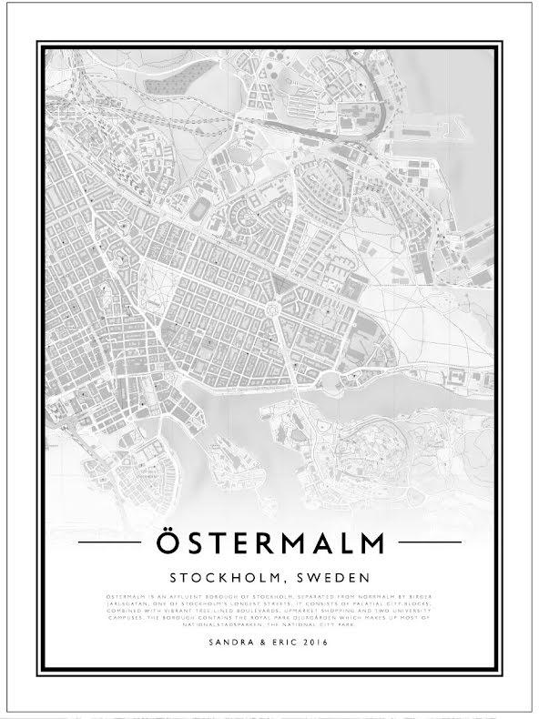 CITY MAP - ÖSTERMALM