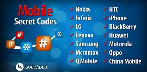 Mobile Scret Codes: Book – Programme op Google Play