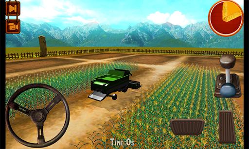 Corn Reaper Farming Simulator