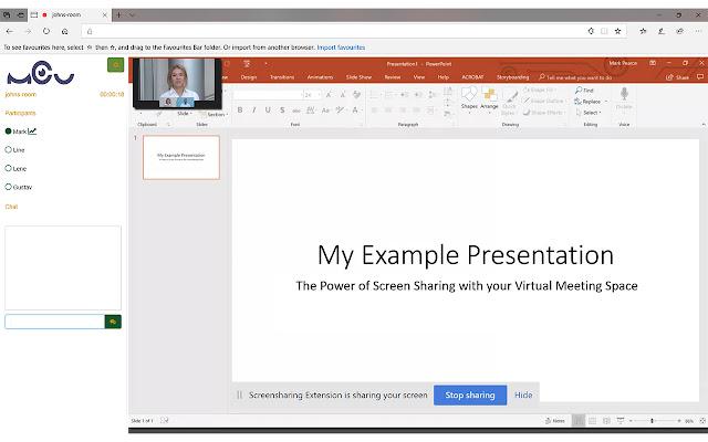 MCU.Center Screensharing Extension