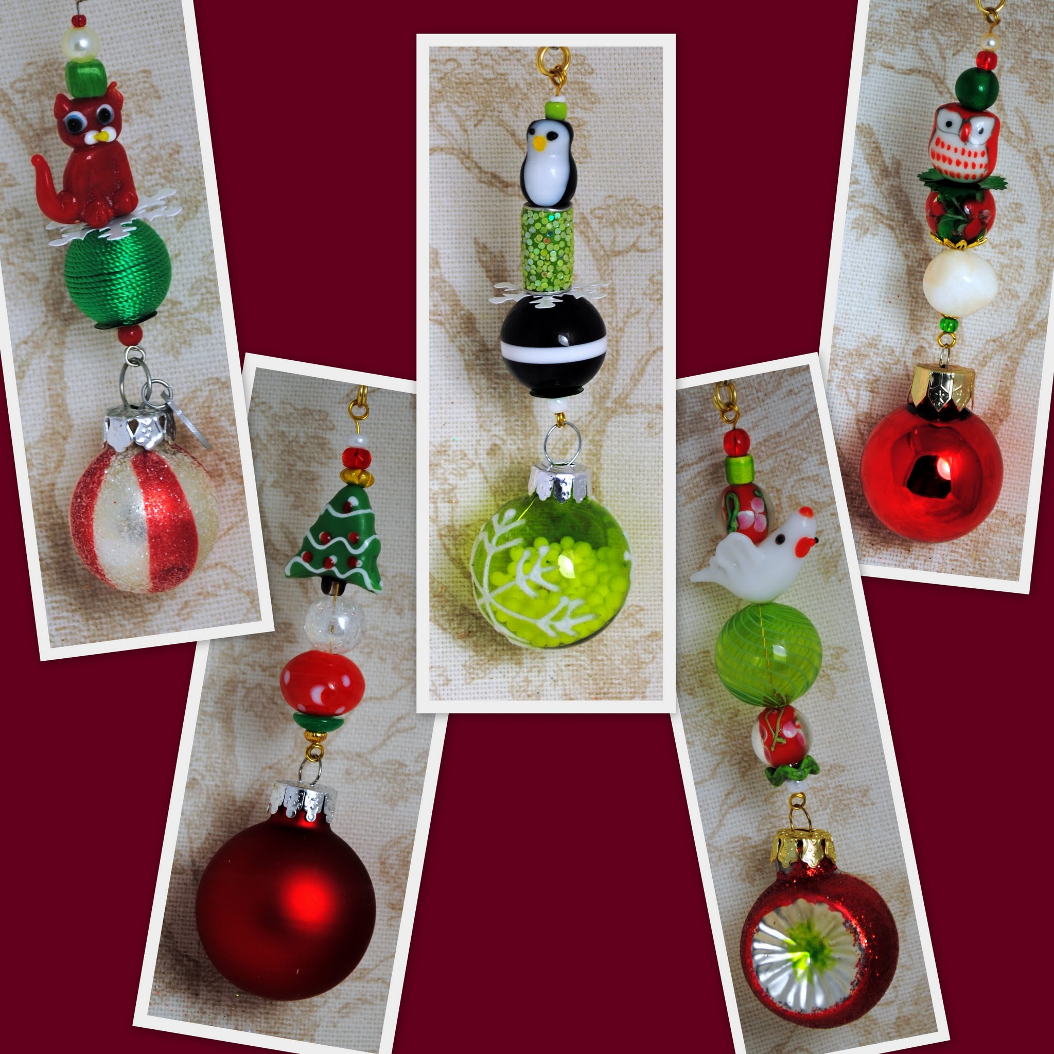 Candy Land Christmas Ornaments