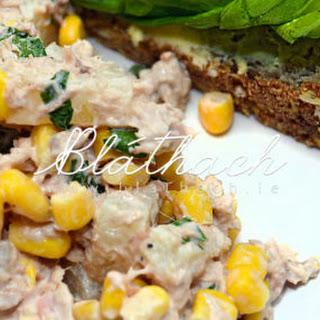 Tuna, Pineapple and Sweet Corn Salad.