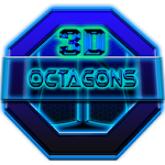 Next Launcher Theme Octagons Icon
