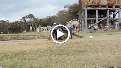 Video: firing of cannon