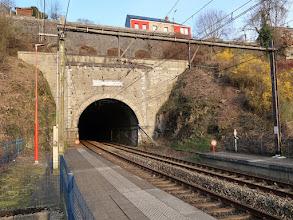 Photo: Un des nombreux tunnels de la ligne de la Vesdre
