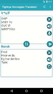 Tigrinya Norwegian Translator for PC-Windows 7,8,10 and Mac apk screenshot 3