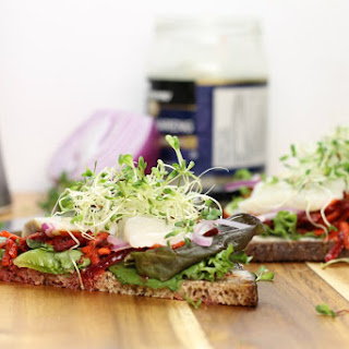 Pickled Herring Sandwich – A German Style Lunch.