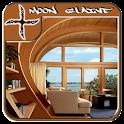 Wooden House Design Ideas icon