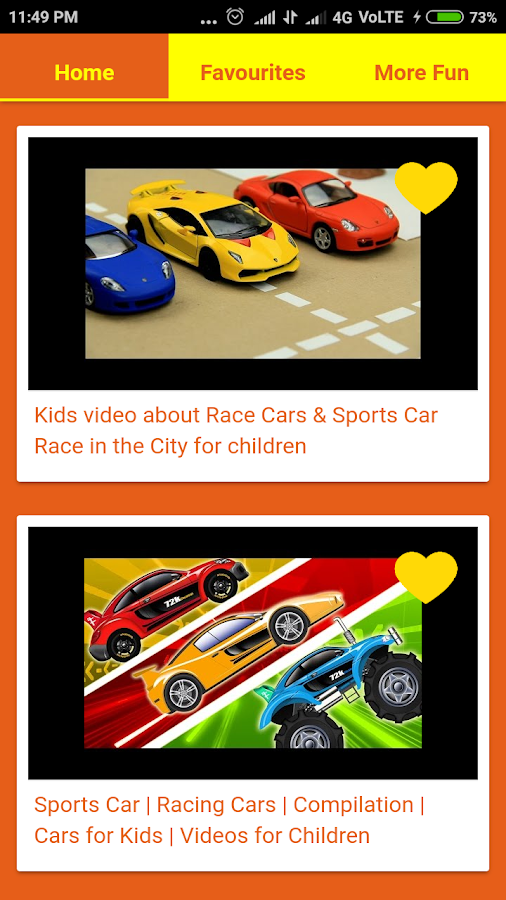 car videos for kids screenshot
