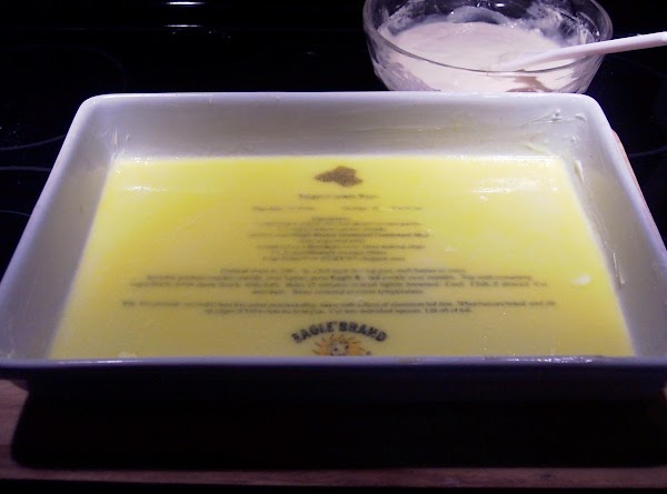 Heat oven to 350 F. Melt butter,  and put into a   9x12 inch...