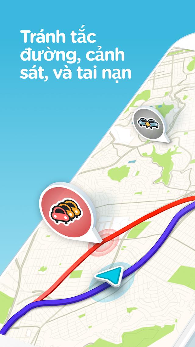 Waze - GPS, Bản đồ, Cảnh báo giao thông v4.52.2.2 [Final]