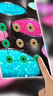 Colorful Glitter Cool AppLock - náhled