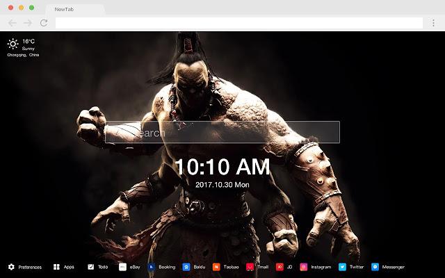Mortal Kombat XL New Tab HD Games Themes