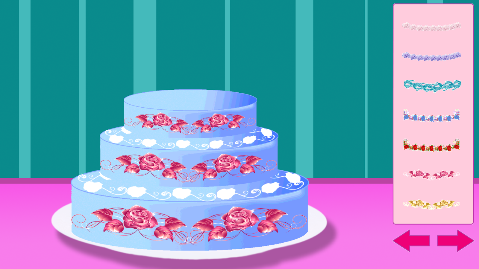 Tasty Princess Wedding Cake Screenshot
