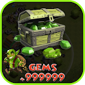 Gems for Clash Of Clans Prank icon