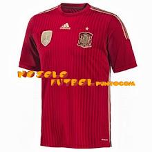 Photo: España 1ª Mundial 2014  * Camiseta Manga Corta * Camiseta Manga Corta ADIZERO * CamisetaManga Larga * Camiseta Mujer * CamisetaNiño con pantalón
