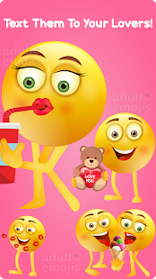Download Love Couple Emoji Sticker Keyboard For PC Windows and Mac apk screenshot 3