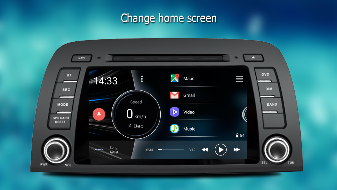 Car launcher pro android apps auf google play for Honda car app