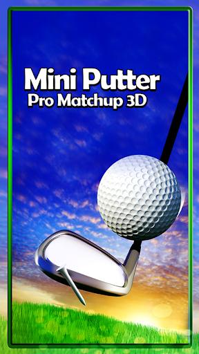 Mini Putter Pro Matchup 3D