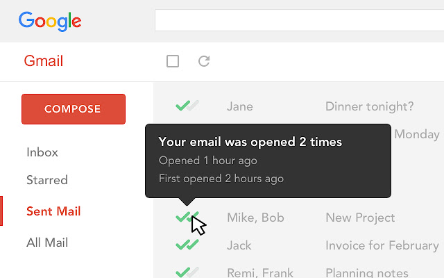 Email Tracker For Gmail Mailtrack