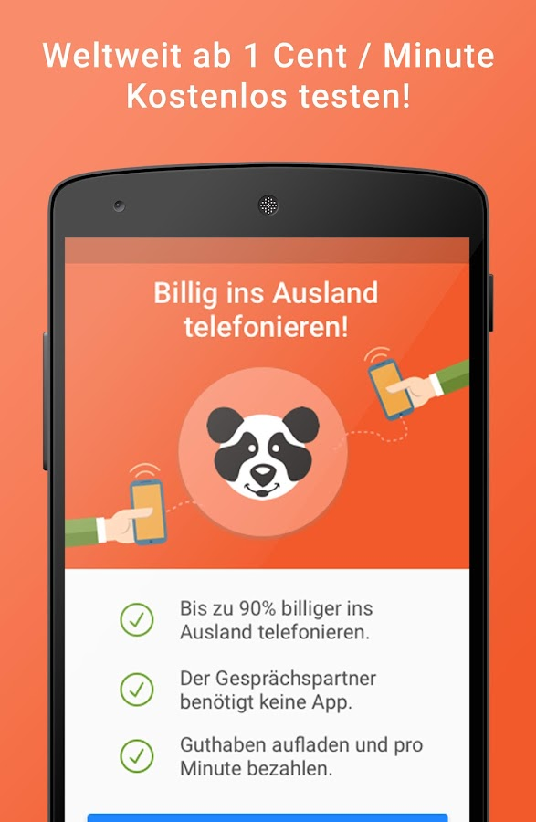 mytello - Billig ins Ausland- screenshot