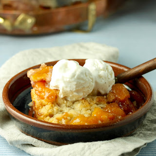 New England Peach Cobbler