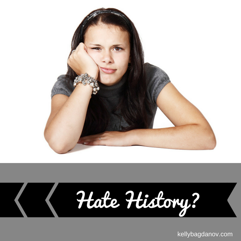 Great article on teaching students to LOVE history. No more boring dry textbooks