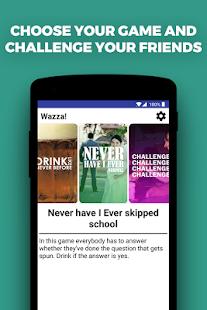 Wazza - Drinking game - náhled