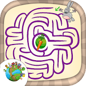 Mazes painting – brain games