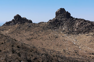Photo: View from Mid Hills Campground, Mojave Preserve