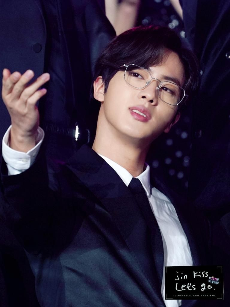 bts jin glasses 6