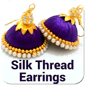 Silk Thread Earrings Offline