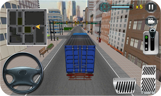 實際速度卡車駕駛3D