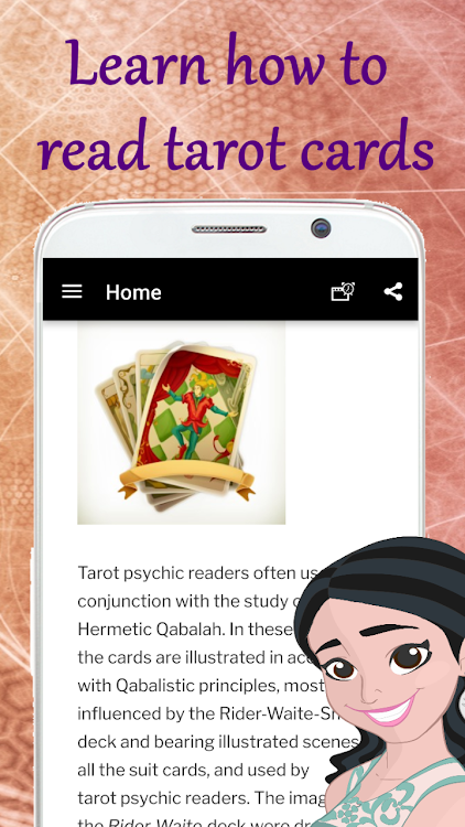 Tarot card reading free course! Online tarot read – (Android Apps