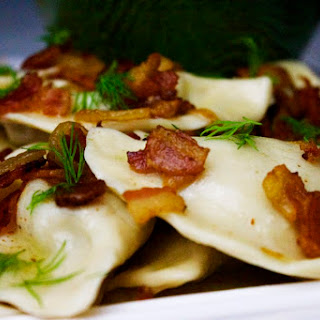 Potato and Cheese Pierogi.