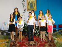 Pielgrzymka młodzieży do Sanktuarium w Tuligłowach