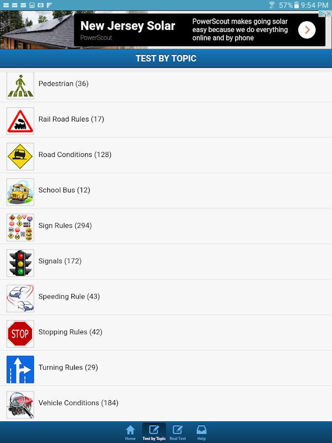 Minnesota Driving Test- screenshot