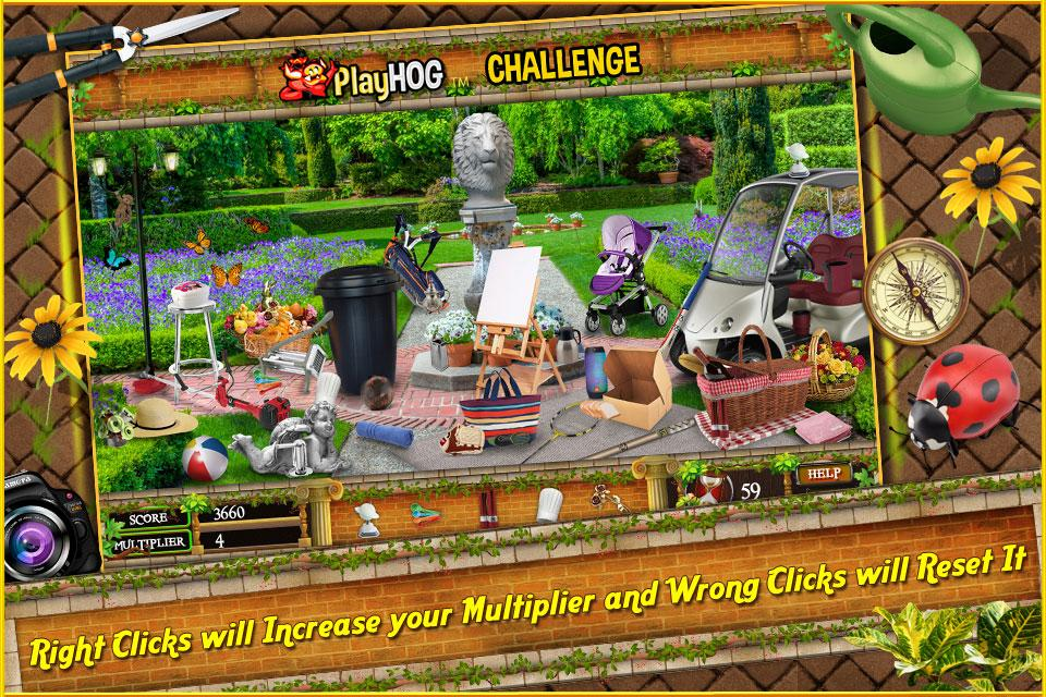 Free Hidden Object Games Free New Secret Gardens 2- screenshot