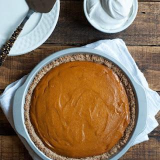 Vegan Pumpkin Pie {Gluten Free}