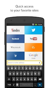 Yandex.Browser for Android - screenshot thumbnail