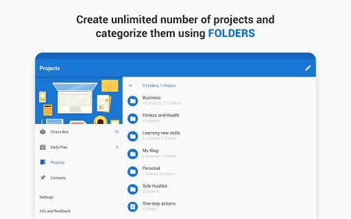 Chaos Control: GTD Organizer & Task List Manager screenshots apkspray 12