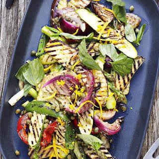 Grilled Summer Vegetable Salad.