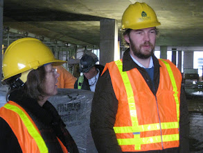 Photo: Doesn't Brian look fly in his construction hat?