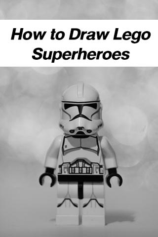 How to Draw Lego Superheroes