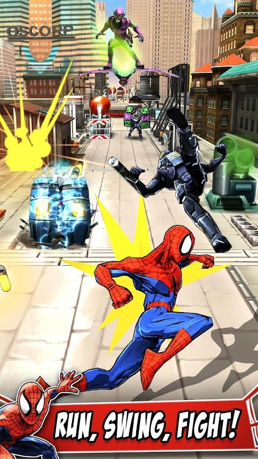 Spider-Man Unlimited– captură de ecran